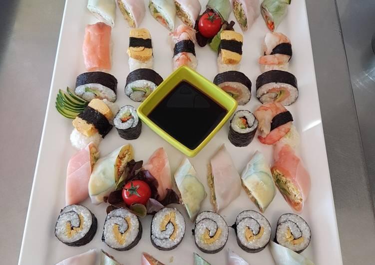 Sushi faire maison