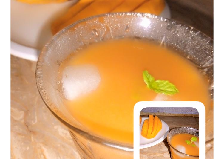 Mango Iced Tea Recipe | Summer refreshing drink