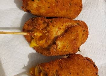 How to Make Yummy Cheese Stuffed Chicken RollUps