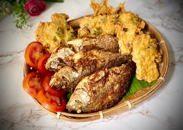 Resep Bumbu serbaguna untuk ikan, ayam, tempe goreng Anti Gagal