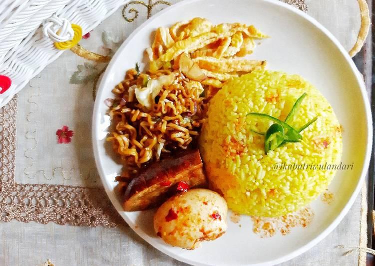 Nasi Kuning Sederhana (Magic com)