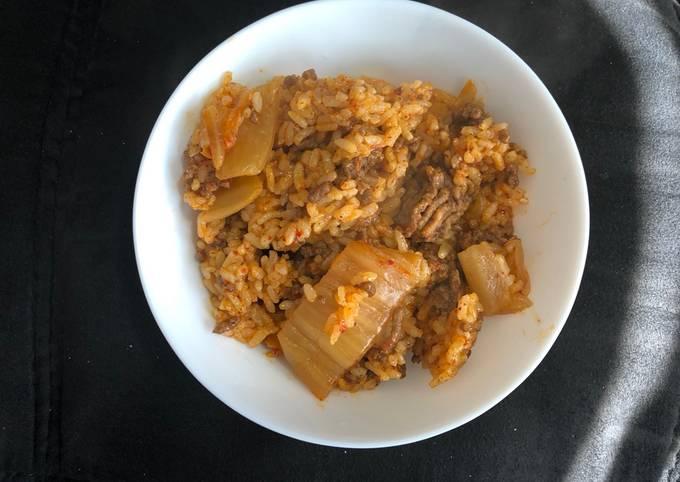 Kimchi Beef Fried Rice