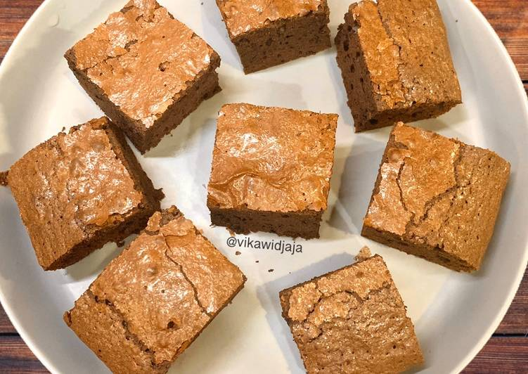 Shiny Crust Brownies