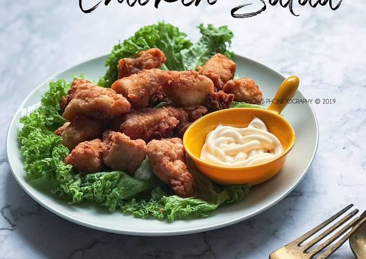 Chicken Salad Air Fryer #munahmasak - resepipouler.com