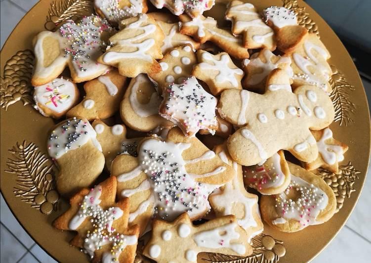 Sablés de Noël cannelle poudre d'amande