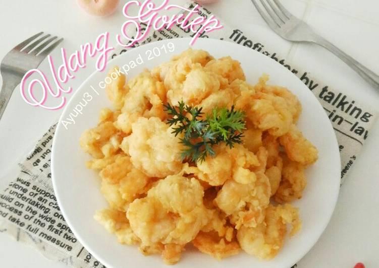 Udang goreng tepung (bumbu homemade)