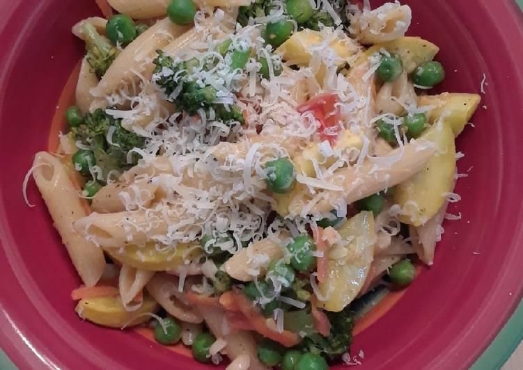 Recipe: Appetizing Pasta Primavera