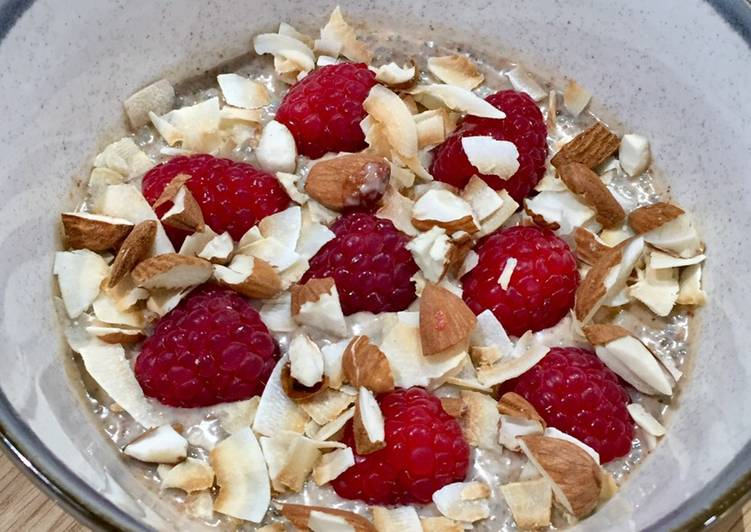 Almond Butter & Coconut Chia Seed Pudding