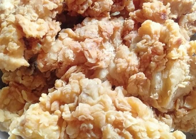Resep Kentucky crispy / ayam krEbo, Bisa Manjain Lidah