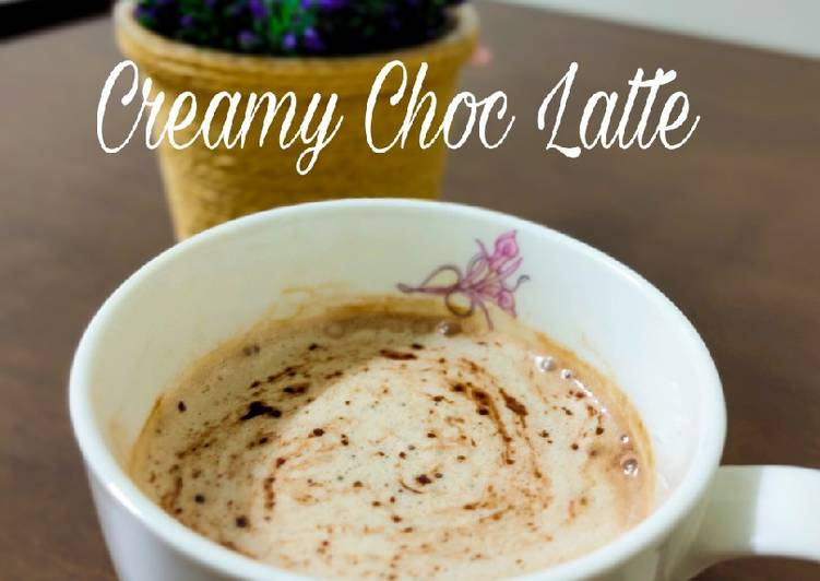 Creamy Choc Latte