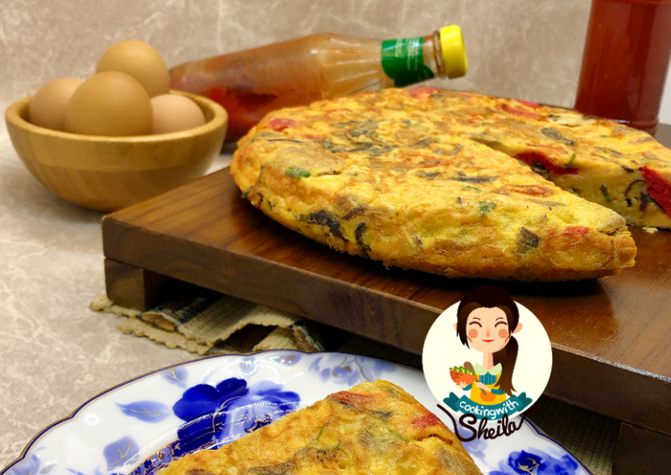 Mie Omelette