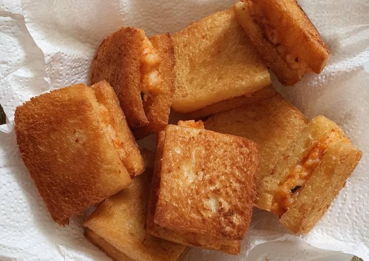 Resep Yummy Dari Menbosha Korean Chinese Fried Shrimp Sandwich