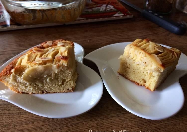 Gâteau amandes aux pommes 🍎 Gala