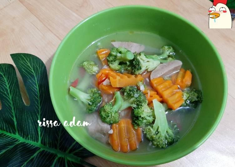 Brokoli kuah gurih&enak (masakan rumahan sehari-hari)
