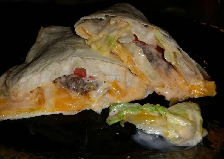 Big Mac Quesadillas