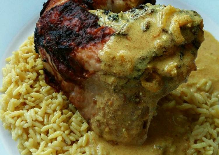 Steps to Prepare Quick Vickys Curry-Spiced Whole Roast Chicken, GF DF EF SF NF