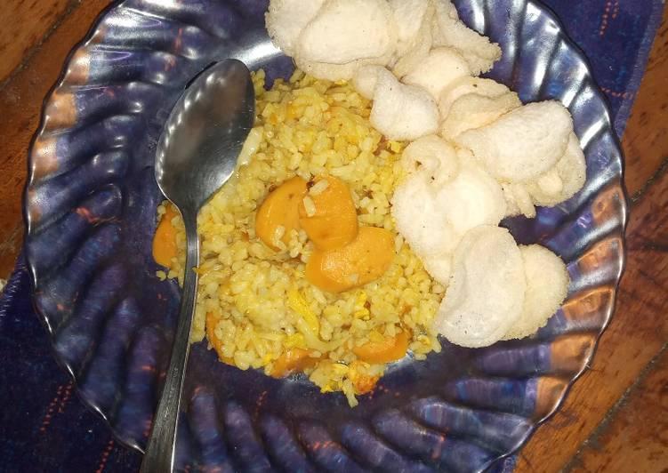 Resep Nasi goreng kunir Paling Gampang