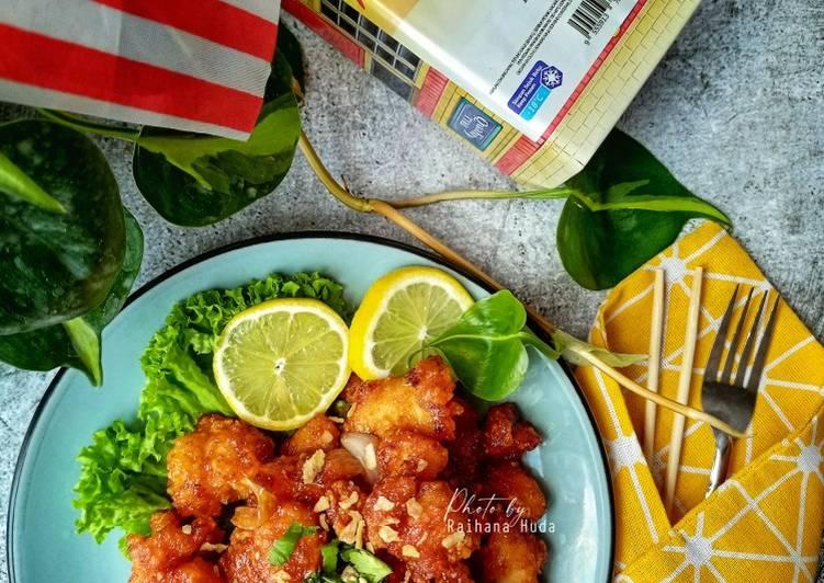 Ayam Popcorn Sambal Masam Manis - velavinkabakery.com