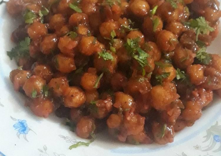 Recipe of Perfect Chilli Chana