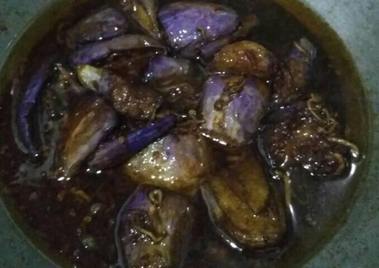 Terong ungu bumbu kecap