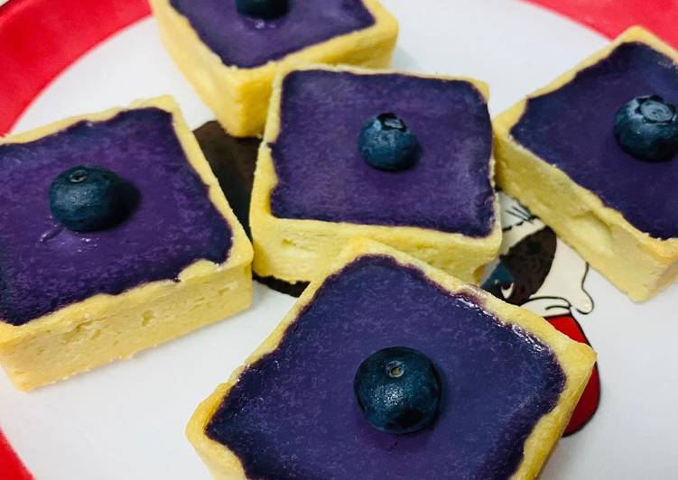 Blueberry Ganache Tart