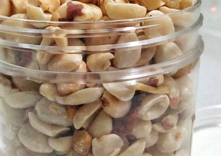 54). Kacang Bawang Panggang (No Oil)~Recook🥜