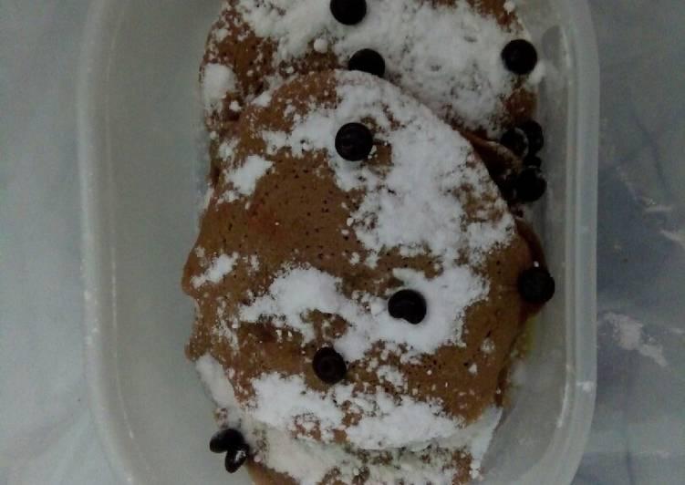 Resep Pancake milo #Kamis manis Terenak