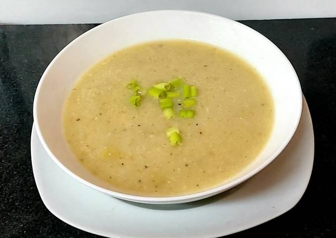 My Leek+Potato Soup