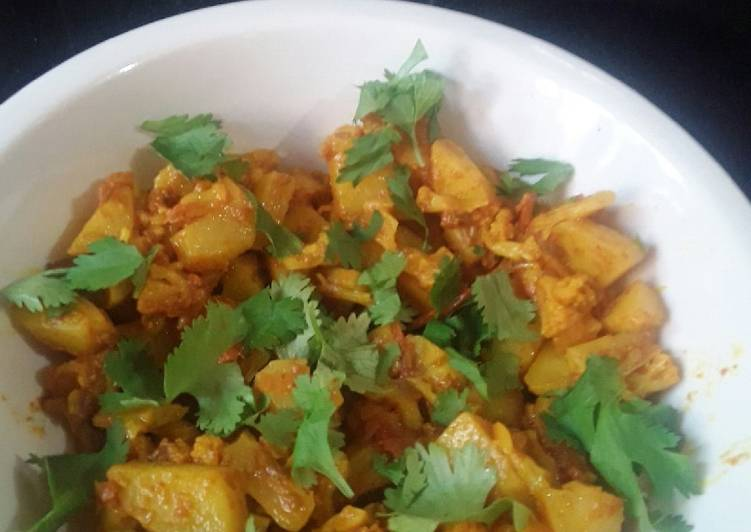Easiest Way to Make Perfect Cauliflower sabji
