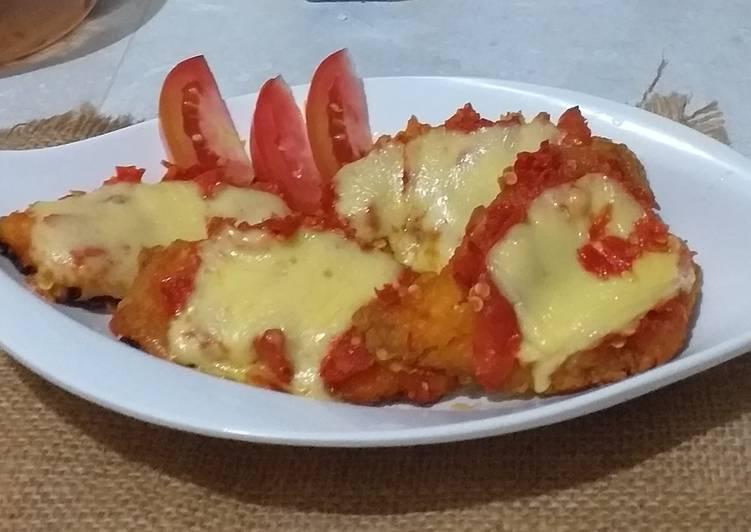 Ayam Geprek Mozzarela