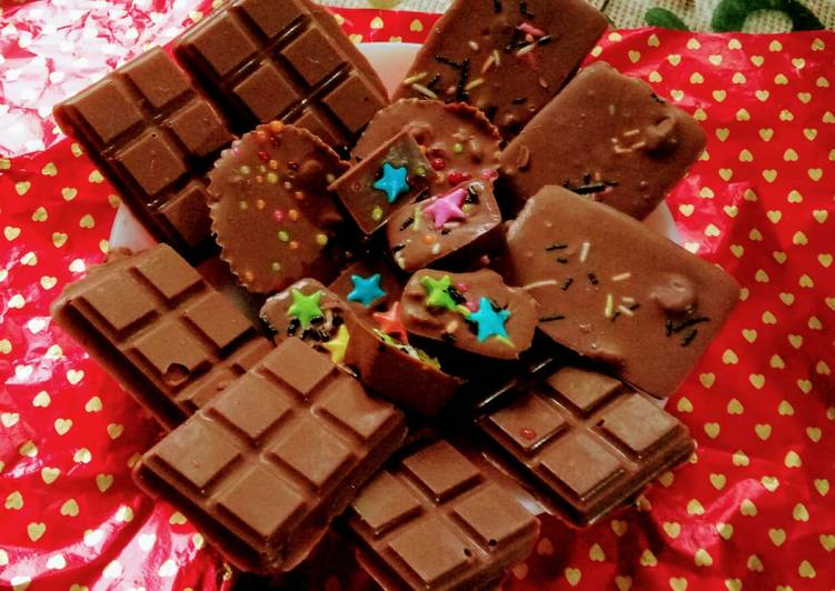Easiest Way to Cook Delicious Dark chocolate recipe