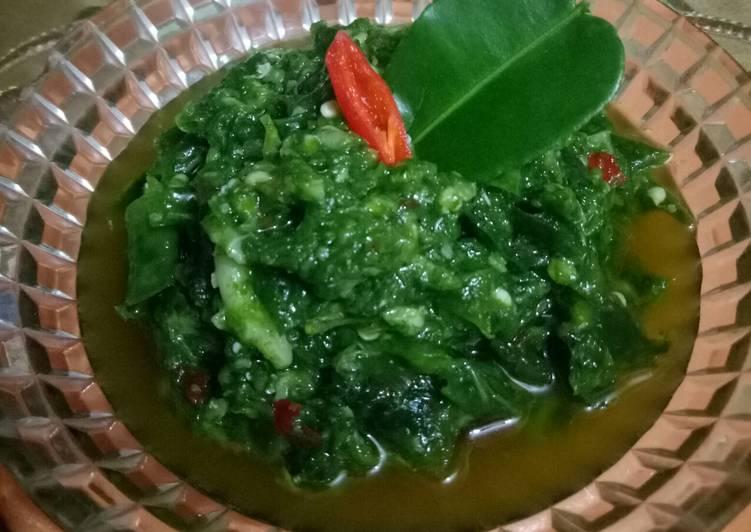 Resep Sambal bawang lombok ijo Yang Mudah Endes