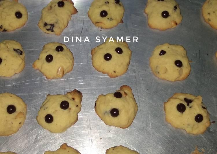Choco Chips Cookies Renyah (#pr_olahan coklat)
