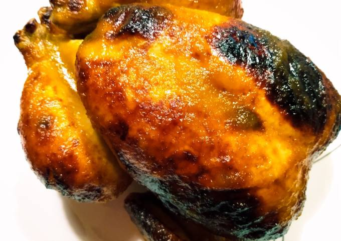 Recipe of Speedy Mango-lime-chili roast chicken