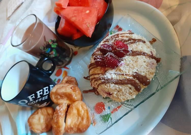 Recette: Appétissant Bowlcake framboise coco