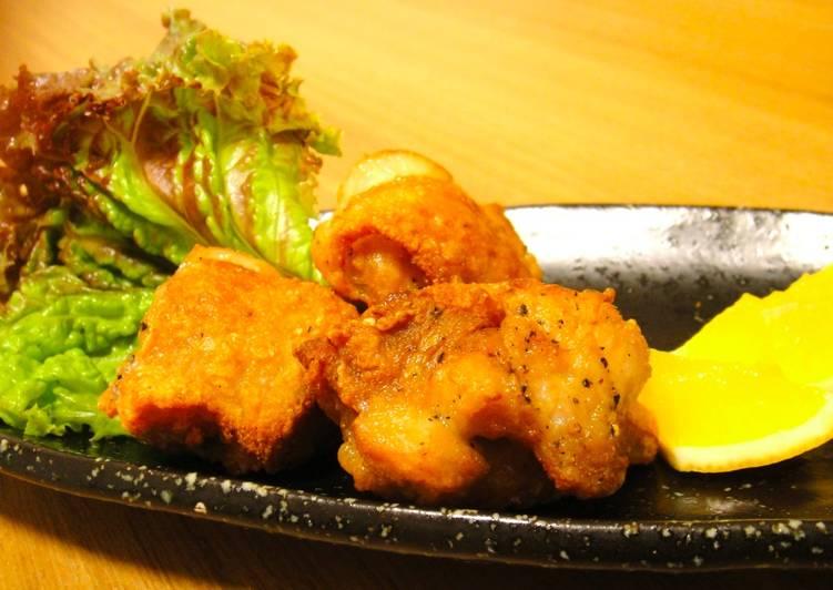 Steps to Make Homemade Deep fried chicken Karaage