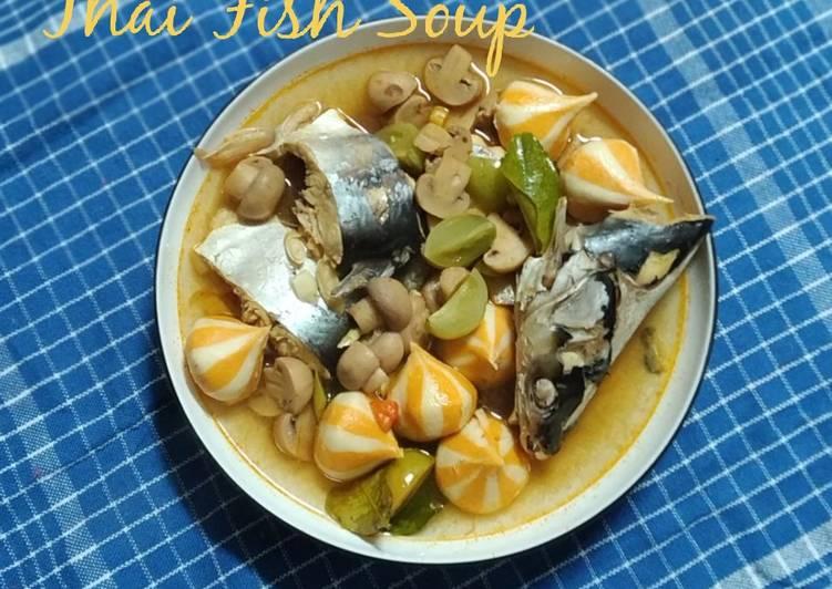 Thai Fish Soup (ikan patin)