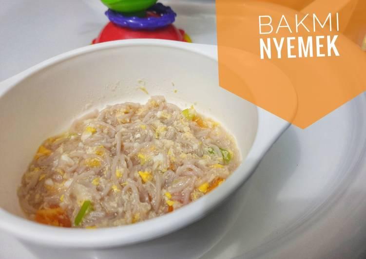 Bakmi Nyemek - MPASI 9m