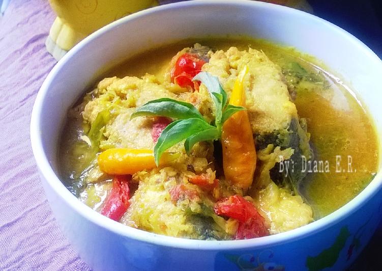 Ikan Kuah Kuning Pedas (tanpa santan) #pr_cabelita