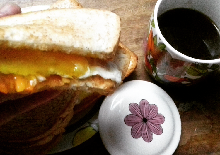 Resep Egg Sandwich Bikin Ngiler