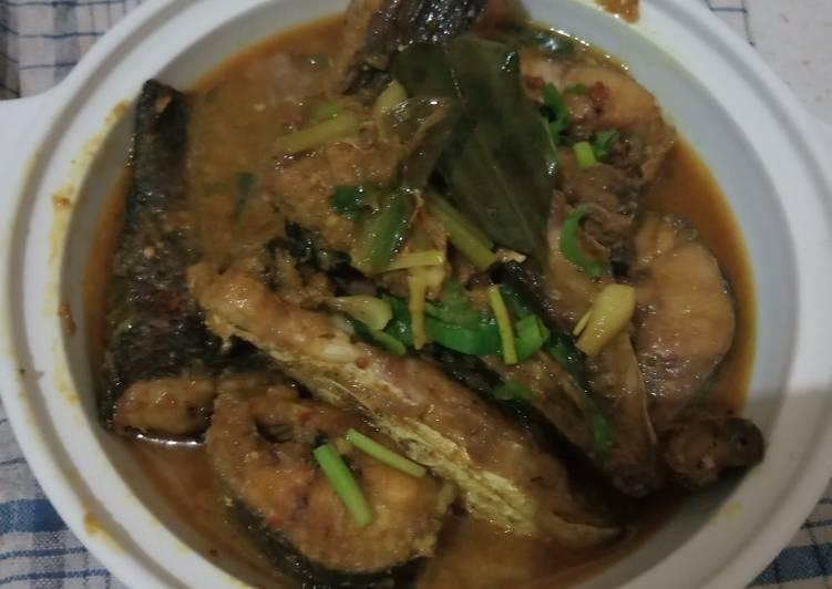 Gulai ikan gabus no santan