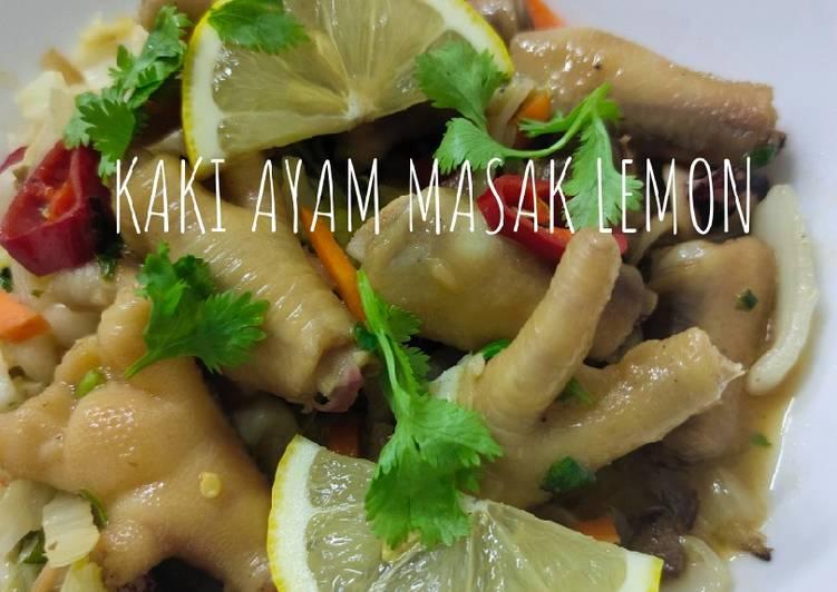 Kaki Ayam Masak Lemon - velavinkabakery.com