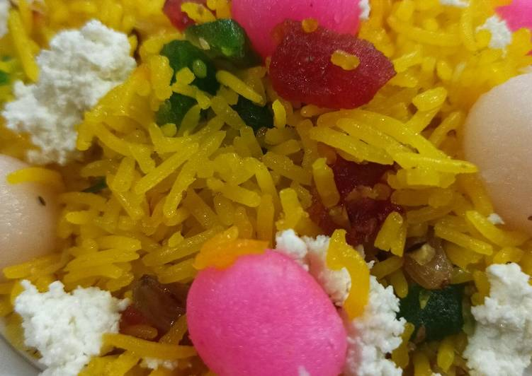 YELLOW ZARDA (sweet rice)