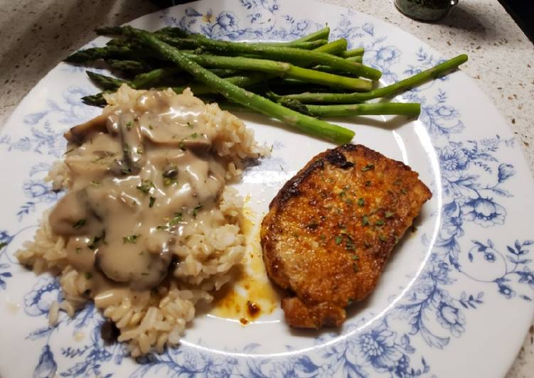 My Easy Oven Baked Pork Chops
