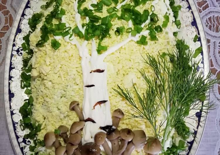 Салат белая ночь рецепт с фото пошагово список