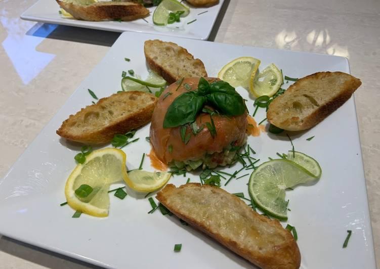 Le moyen le plus simple de Préparer Parfait Tartare aux deux saumons