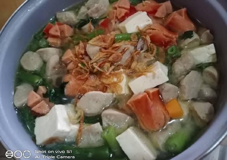 Resep Sop sayur Batita Yang Mudah Sedap