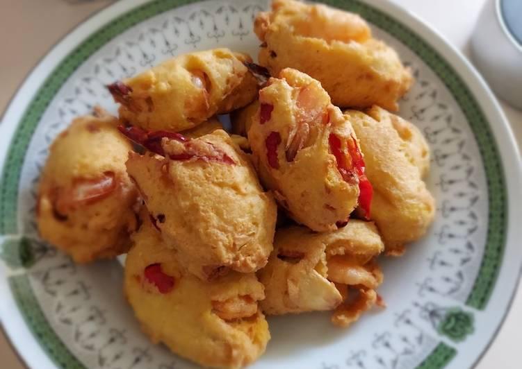 Perkedel Tahu Udang - cookandrecipe.com
