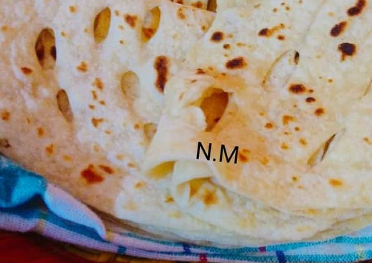 Steps to Make Super Quick Homemade Chapati in my style