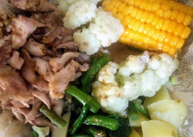 My diet food boiled and low calories scrumptious taste